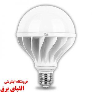 فروش لامپ ال ای دی حبابی 100 وات پارس شعاع توس