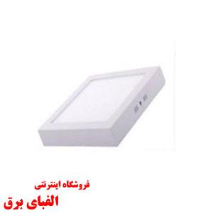 چراغ ال ای دی 24وات زاک روکار مدل لایت مربع